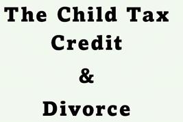 child tax credit divorce